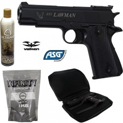 Pack STI Lawman GNB NBB Airsoft 6mm
