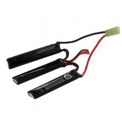1300mah 11.1V 3 pcs type lipo battery
