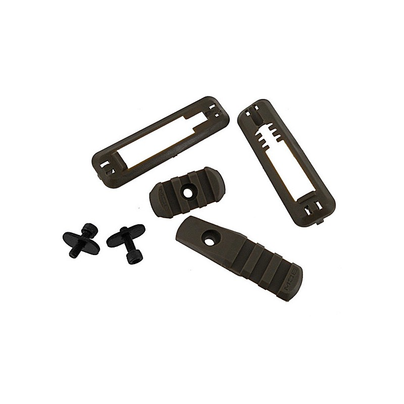 Kit rail pour garde main commando Black