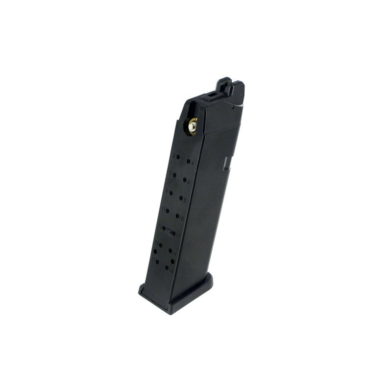 Magazine for WE and Marui R17/R18C,24rds-ABS