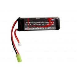 Batterie ASG 11,1v 2200mAh 30C Lipo