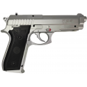 CYBERGUN PT92 silver Co2 BAX 6mm tout metal 15BB's 0,9 J