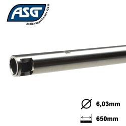 Airsoft Barrel, SS, 6,03mm x 650mm, SVD ASG-16668