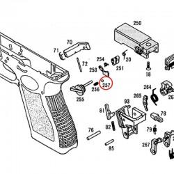 Bille de Sélecteur pour KSC / KWA Glock 18C
