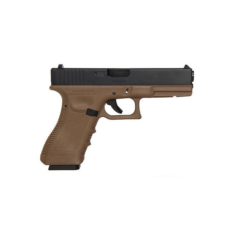 G17 Gen3, metal slide, GBB, send