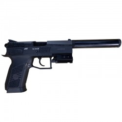 Pack CZ75 P-07 +Laser Swiss Arms + Silencieux ASG