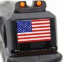 R18C (G002B-B) Gen4, metal slide, GBB, black - USA flag