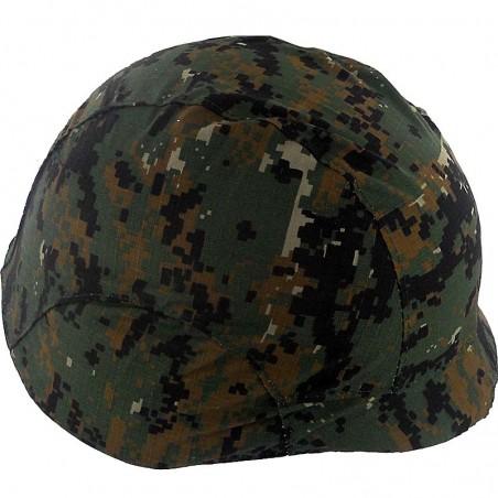 Habillage de casque Digit Woodland Black Eagle