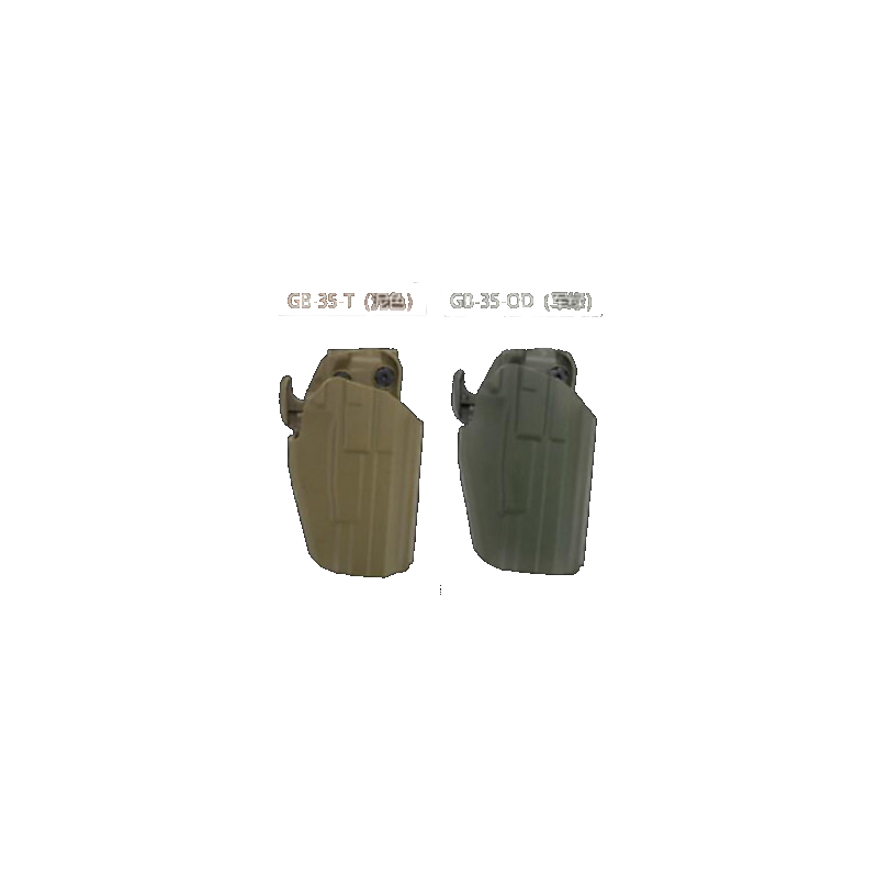 Wosport GB-35 Tactical Speedy Remove Kit for GLOCK 17/18/22, M&P9, P226, 92F, HK45 ( TAN )