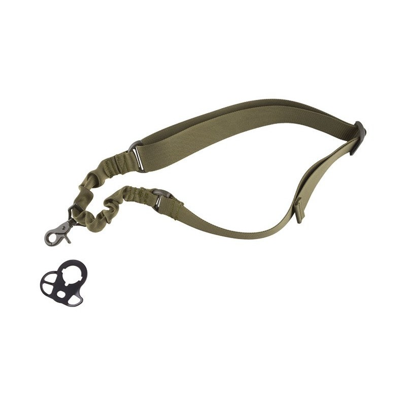 One-point Bungee Tactical Sling Belt with Mount Black Eagle Corporation 2K20