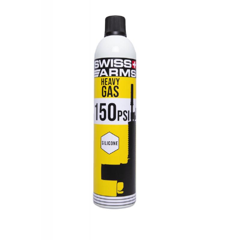 Bouteille de gaz Swiss arms Scar Heavy (150 PSI) Lubrifié 760ml