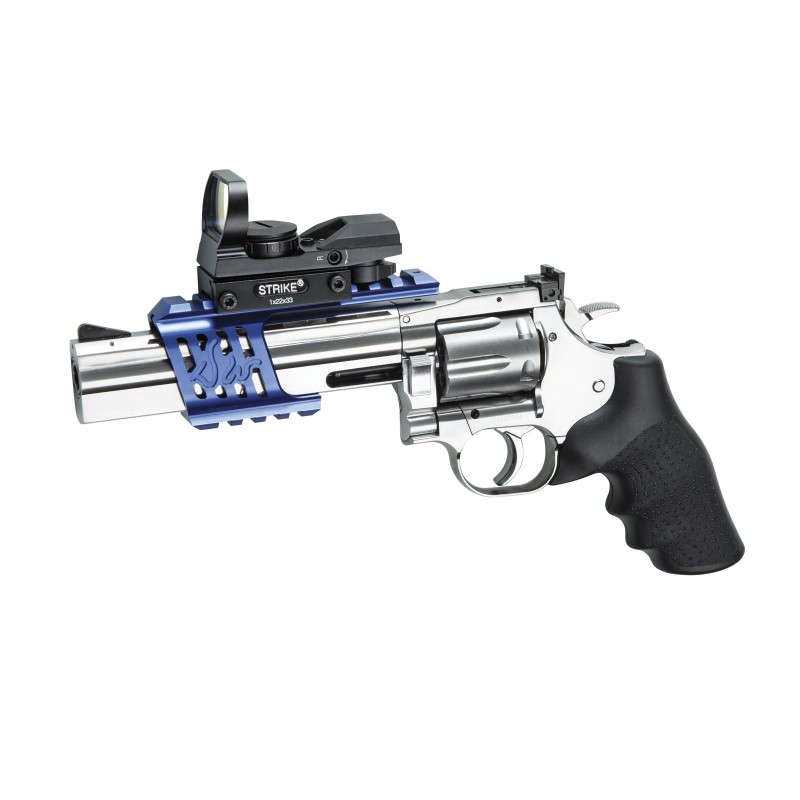 Revolver, GNB, CO2, DW 715, 6 inches , low power, silv