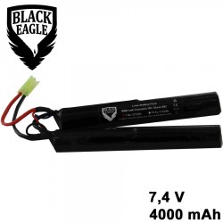 4000Mah 7,4v nunchuck type liion battery