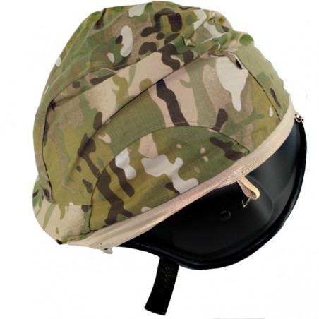 Housse pour casque SWAT camouflage feuillage