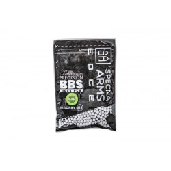 0.36g Specna Arms EDGE BIO Precision BBs - 1000 BBs - White