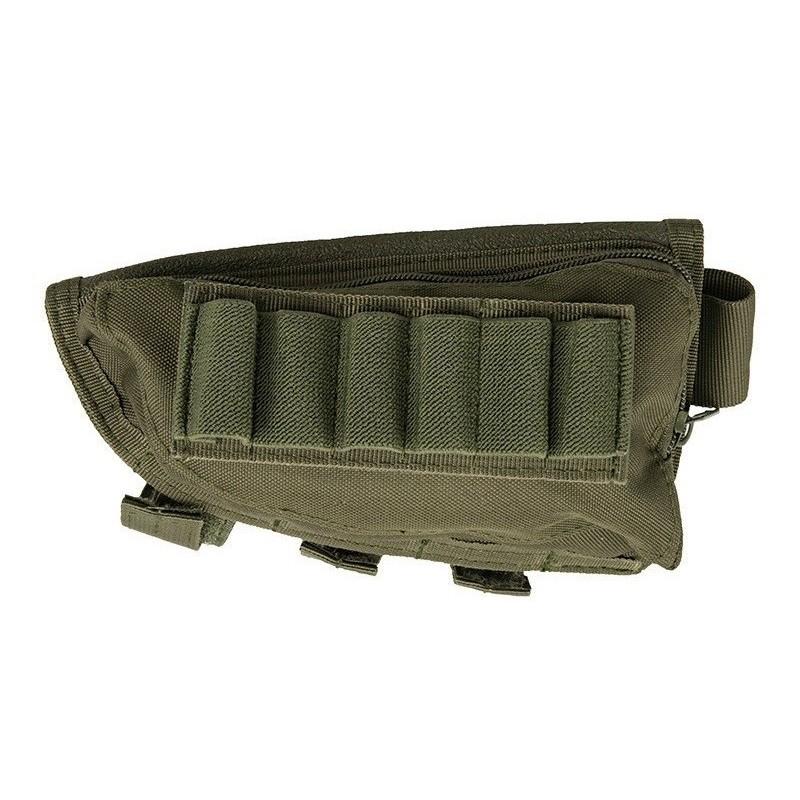 Shotgun Stock Shell Pouch - Olive
