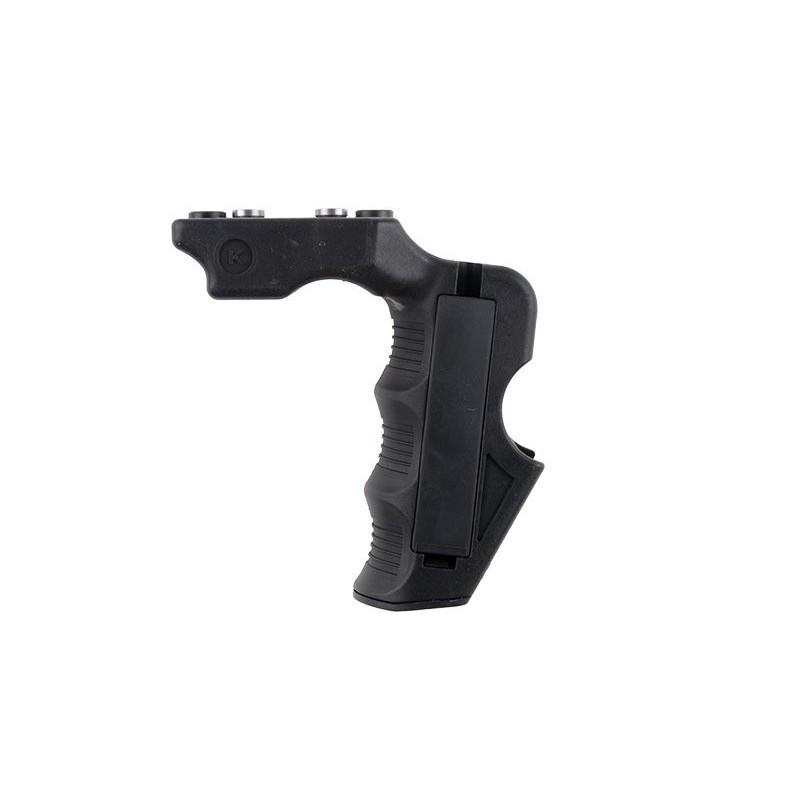KEYMOD Magwell Tactical Forward Grip - Black