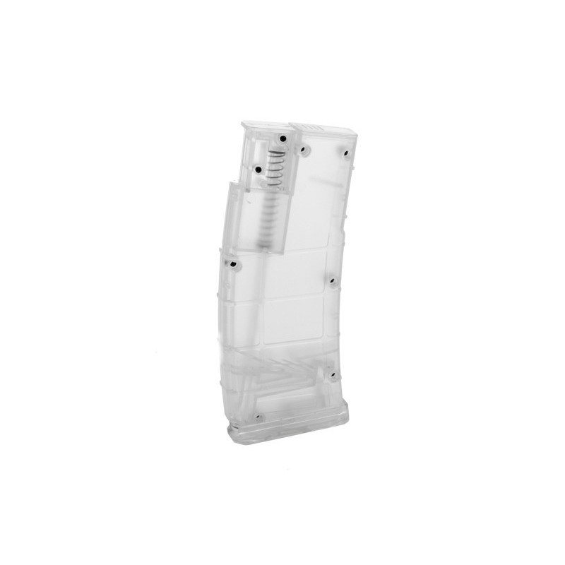 PMAG magazine-shaped speedloader - transparent