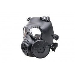 Replica p-gas mask with cooling system - black