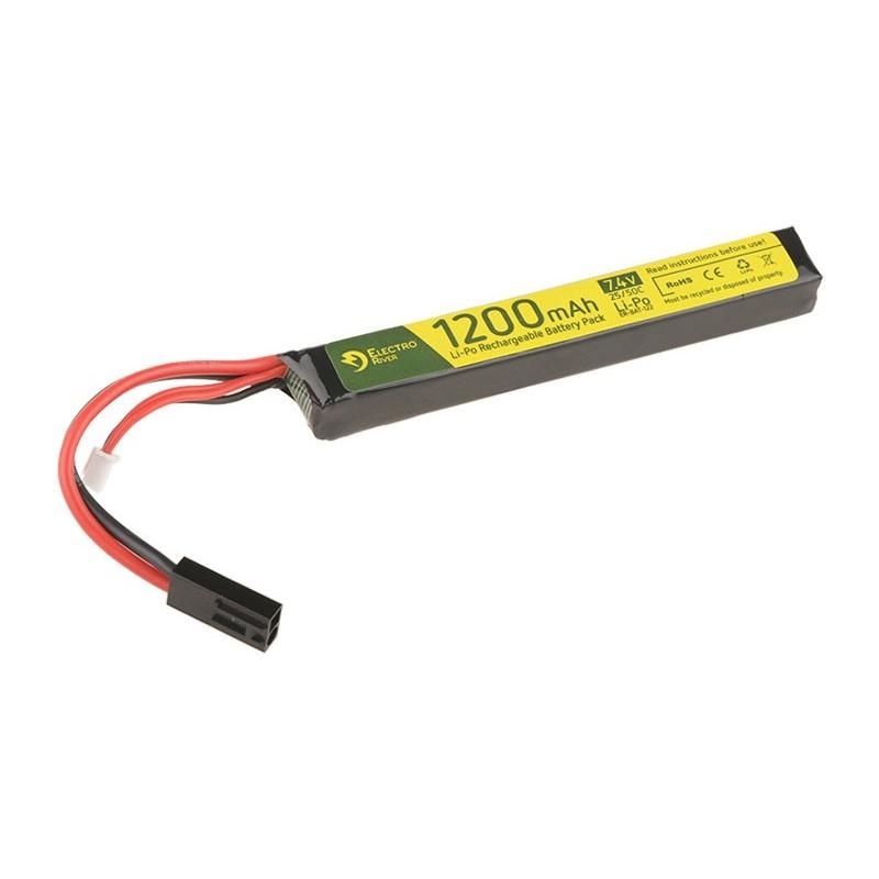 LiPo 7.4V 1200 mAh 25/50C Battery