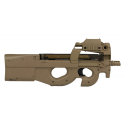 FN P90 FDE AEG AVEC RED DOT ABS 70 bbs