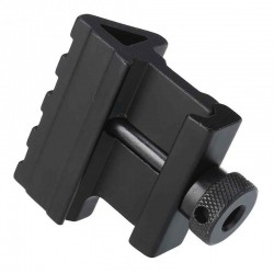45 Degree Angle Tactical Offset Mount Noir Black Eagle