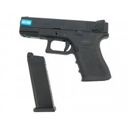 R23 (G004B-B) Gen4, metal slide, GBB, black