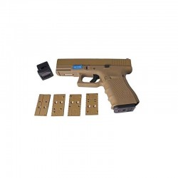 R19 MOS (G003RDA-TAN) Gen3, metal slide, GBB, full TAN