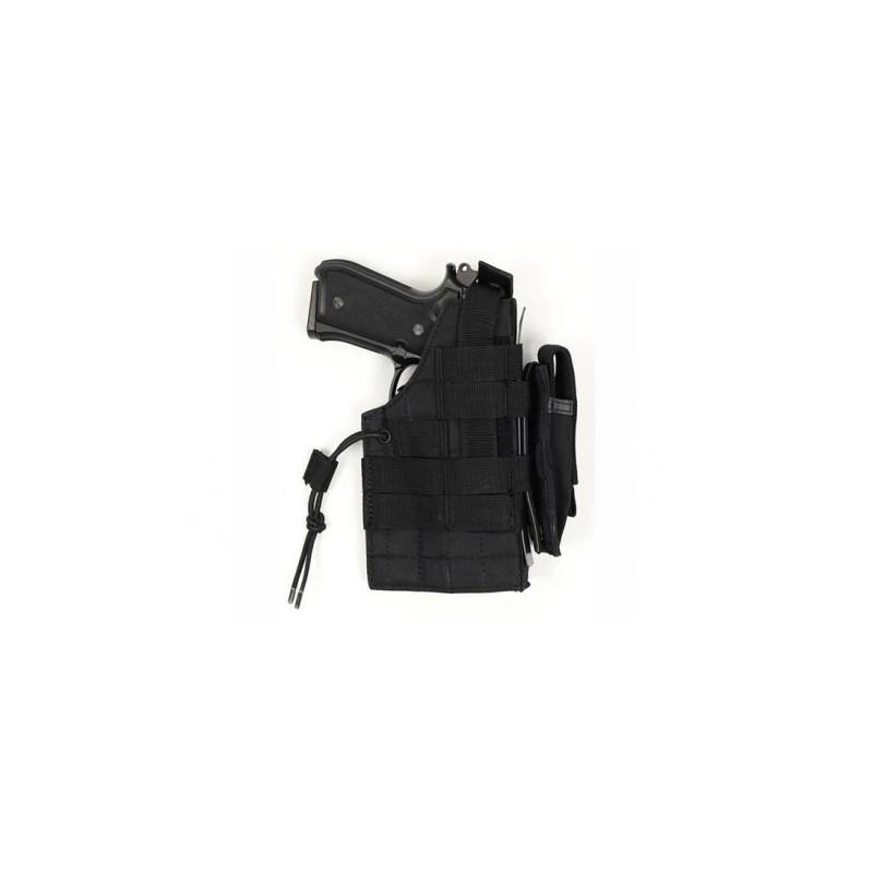 MOLLE pistol holster glock sided BLACK