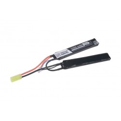 LiPo 7,4V 1200mAh 15/30C Battery - Butterfly Configuration