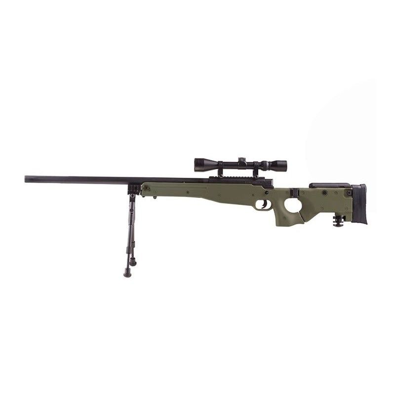 MB08A sniper rifle replique - with scope and bipod - olive