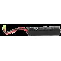 1400mah 11.1V 30C lipo battery stick type with small tamiya Balck Eagle