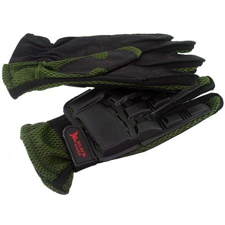 Airsoft Paintball Vexor gants Green M
