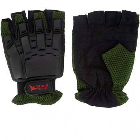 Mitaines Vexor Green M AIrsoft Paintball Black Eagle Corporation
