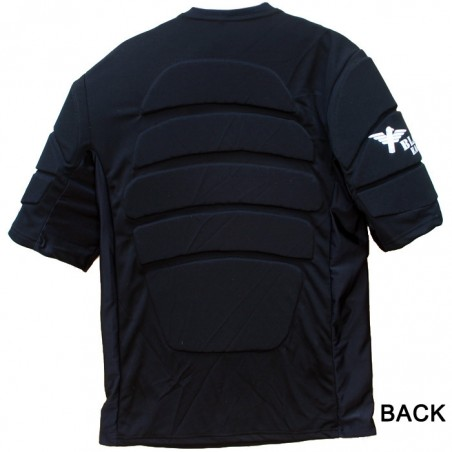 Paintball chest protector Black Eagle - Black taille Kids
