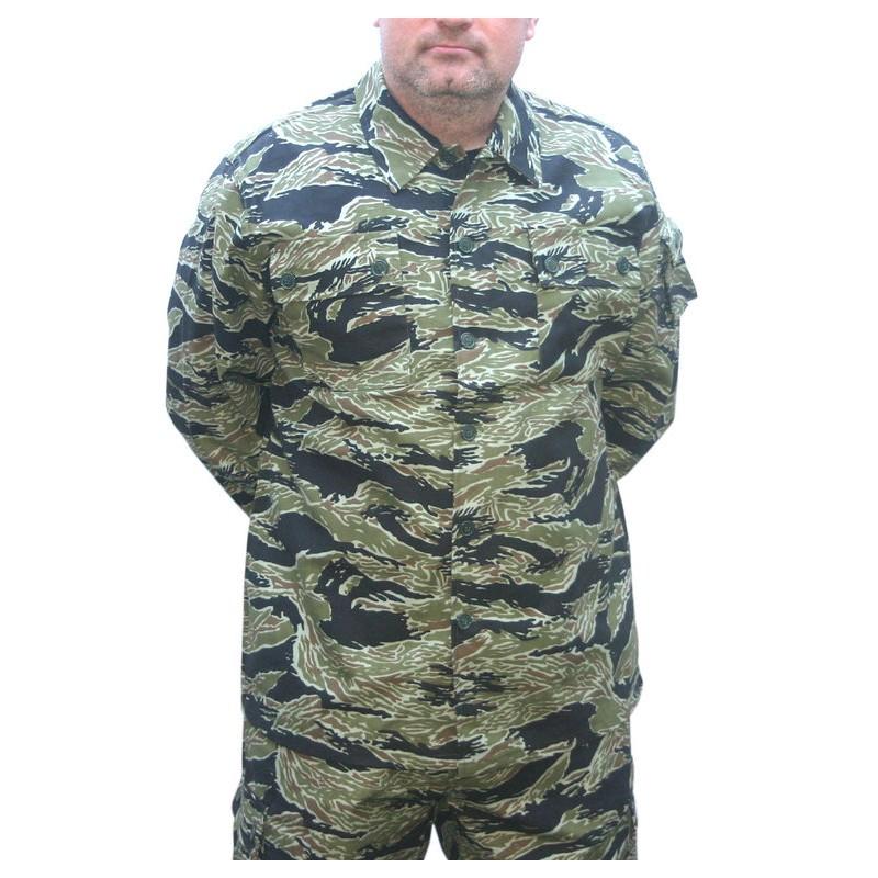 Veste camouflage Tiger Stripe Taille S Black Eagle