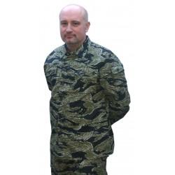 Veste camouflage Tiger Stripe Taille S [Black Eagle]