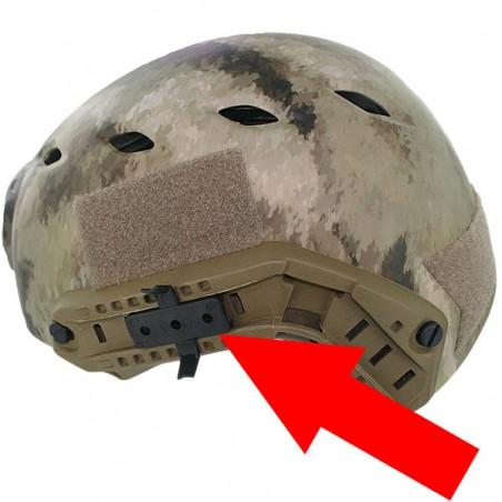 helmet rails Black Eagle Corporation