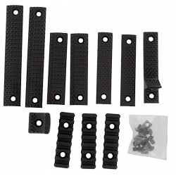 KAC URX 3.1 Deluxe Panel Kit Black [Black Eagle Corporation]