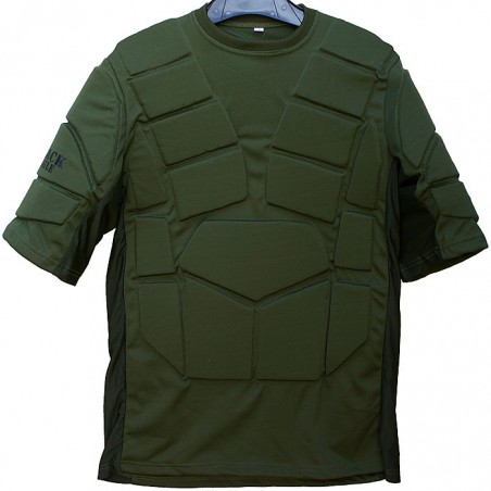 Paintball Chest Protection Black Eagle Corporation Green kids